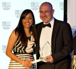 OMM WINS TRAINING AND DEVELOPMENT AWARD AT ANNUAL FSB DINNER