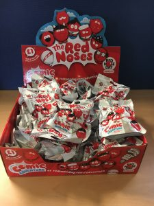 We raised over £100 for Red Nose Day