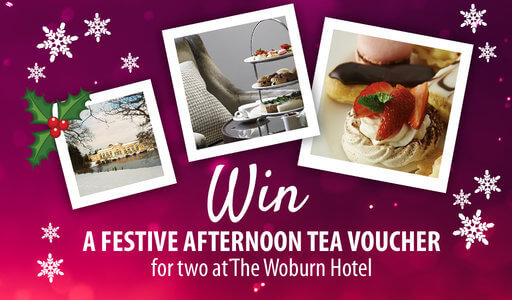 Win a luxury festive afternoon tea for two at The Woburn Hotel