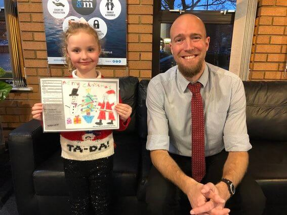 Congratulations to Skye - our Christmas card competition winner