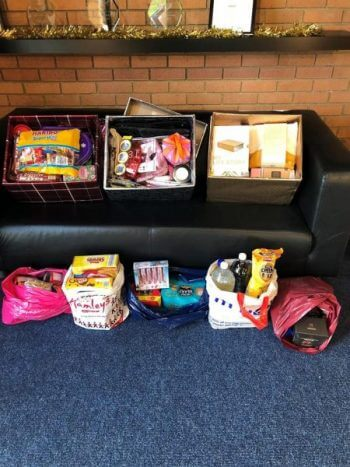 Thank you from OM&M - 159 parcels for families in our reverse advent calendar