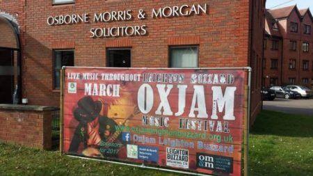 OXJAM music festival Leighton Buzzard