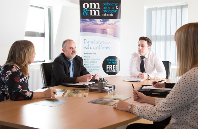 OMM Solicitors Team Meeting