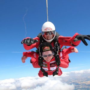 Annie's skydive