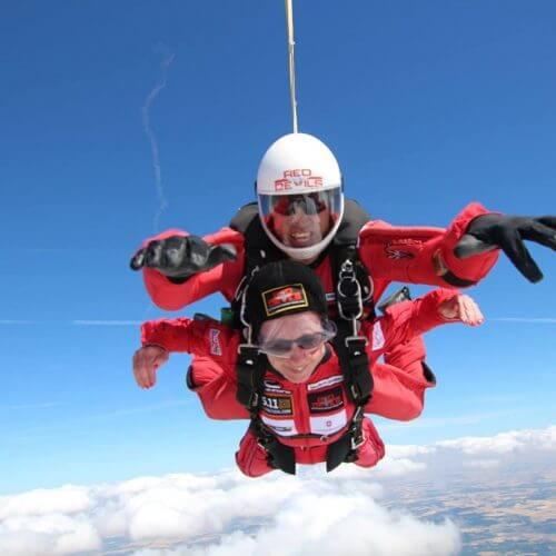 Annie's skydive