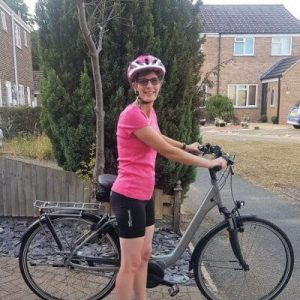 Annie's cycle challenge