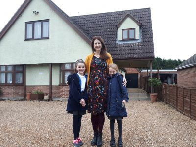 The Wallington family use OM&M Conveyancing solicitors to move into their dream home