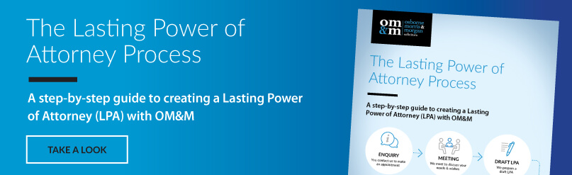 Lasting Power of Attorney banner
