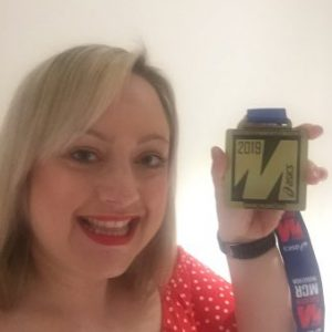She's done it again! OM&M's Laura conquers Manchester Marathon