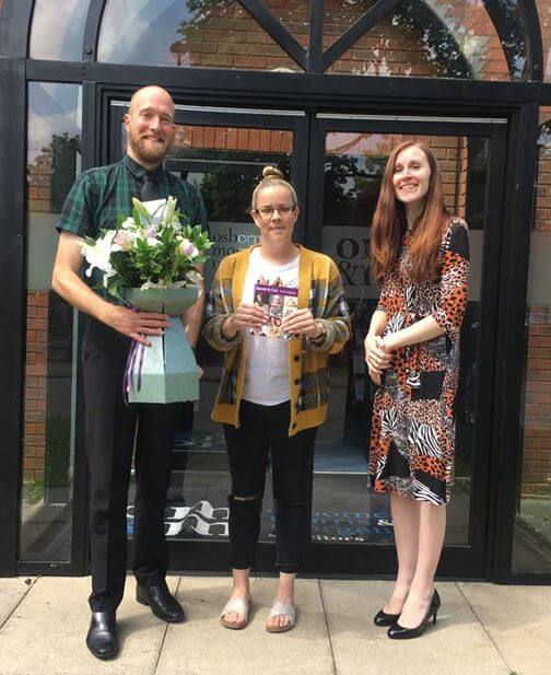 Leighton Buzzard carer wins competition