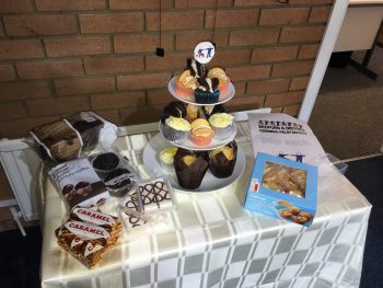 charity day cakes