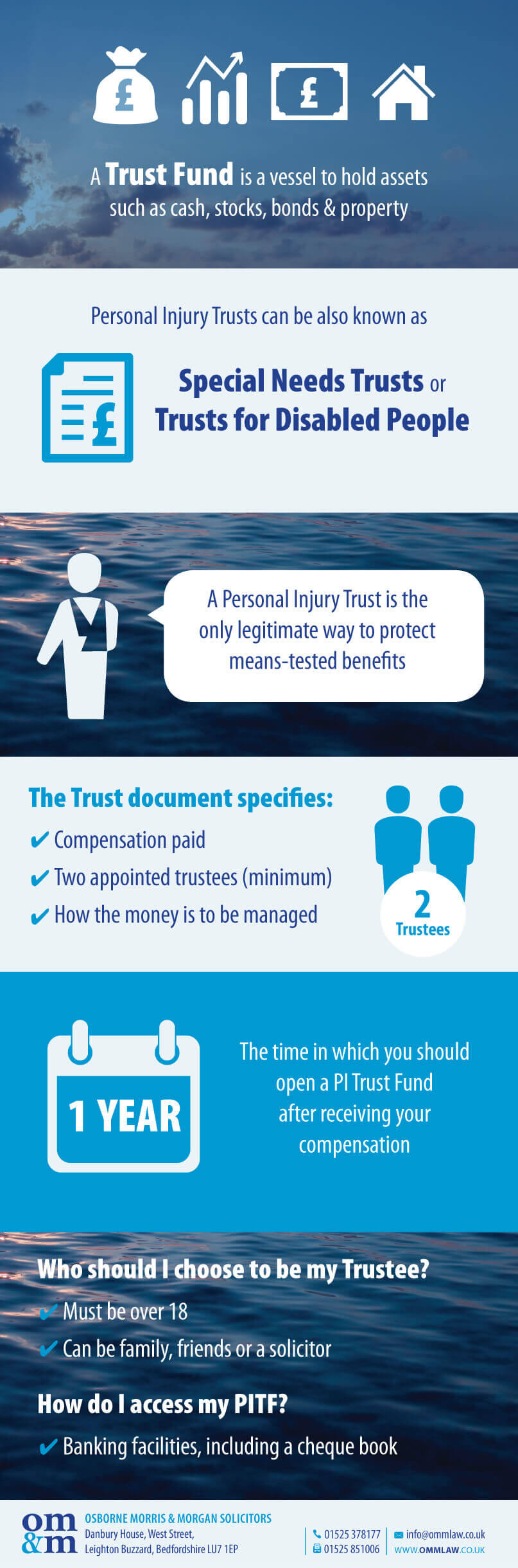 Protect Your Compensation with a Personal Injury Trust - OMM