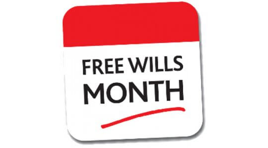 October is Free Wills Month at OM&M