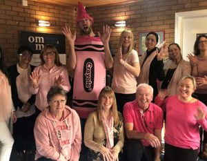 Osborne Morris & Morgan 'Wear It Pink' for Breast Cancer Now