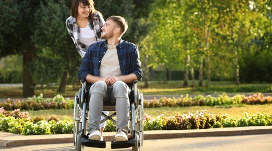Wheelchair injury